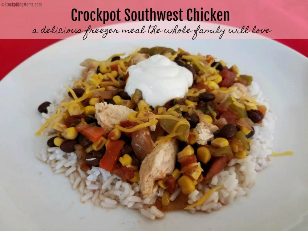 Crockpot Southwest Chickenis amazing! This recipe is so easy to make and a hit every time I serve it! If you are looking for a hearty recipe that the entire family will love this is it!