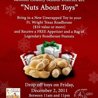 Nuts About Toys Event :: 12/2/11