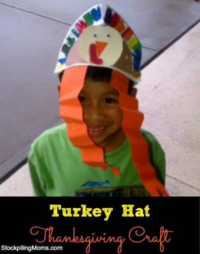Turkey Hat Thanksgiving Craft
