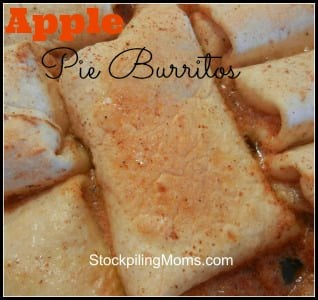 Apple Pie Burritos are a twist on the classic main dish entree and take you to an amazing tasting dessert that is perfect for Cinco de Mayo or Taco Tuesday!