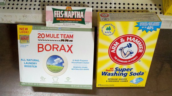 homeade laundry soap ingredients