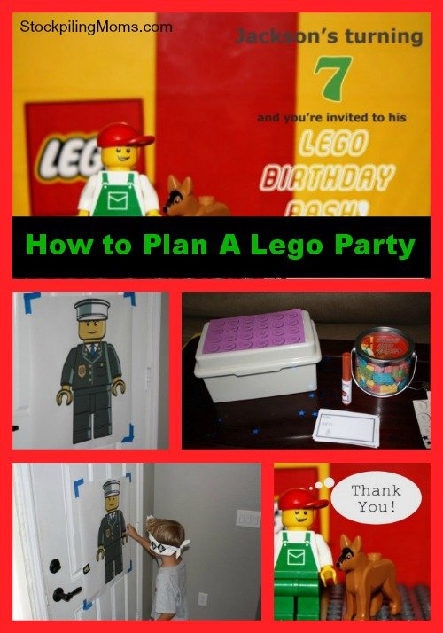 How To Plan a LEGO Birthday Party - If you have a LEGO fanatic in your house this will be a huge success!