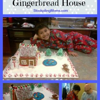 Our Frugal Gingerbread House 2011