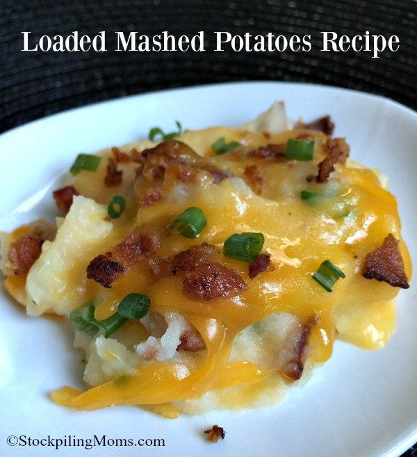 Loaded Mashed Potatoes Recipe is perfect for a party recipe!