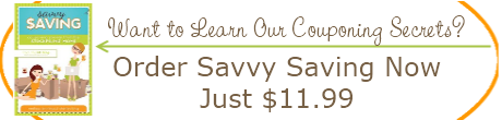 Savvy Saving Book - Couponing Secrets from the Stockpiling Moms
