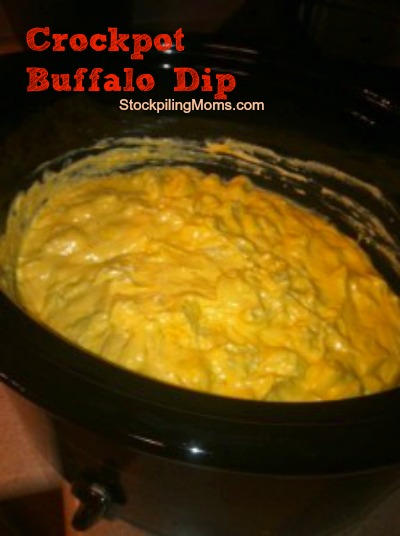 Crockpot Buffalo Dip is our favorite recipe made in the slow cooker! Perfect for entertaining!