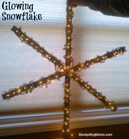 My husband saved a ton of money by making this DIY holiday decoration himself!
