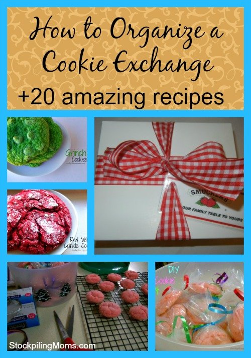 How to organize a cookie exchange! So much fun for the holidays! Plus 20 amazing cookie recipes!