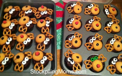So easy to make and so cute for holiday parties!