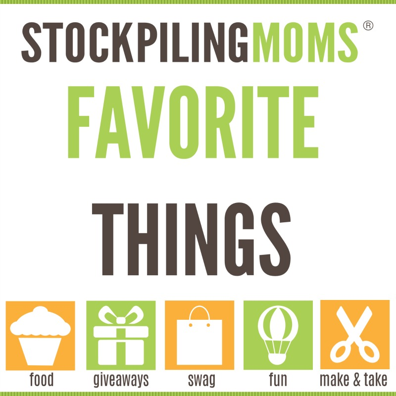 Stockpiling Moms Favorite Things Event - 9/26/15