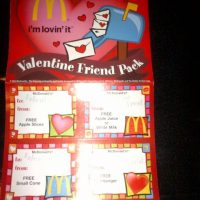 McDonald's Valentine's Day Coupons Available