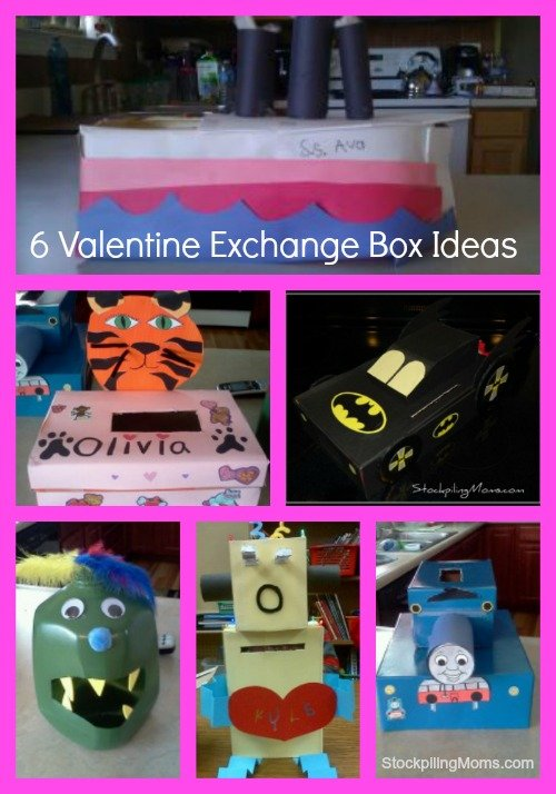 6 Creative Valentine Exchange Treat Box Ideas