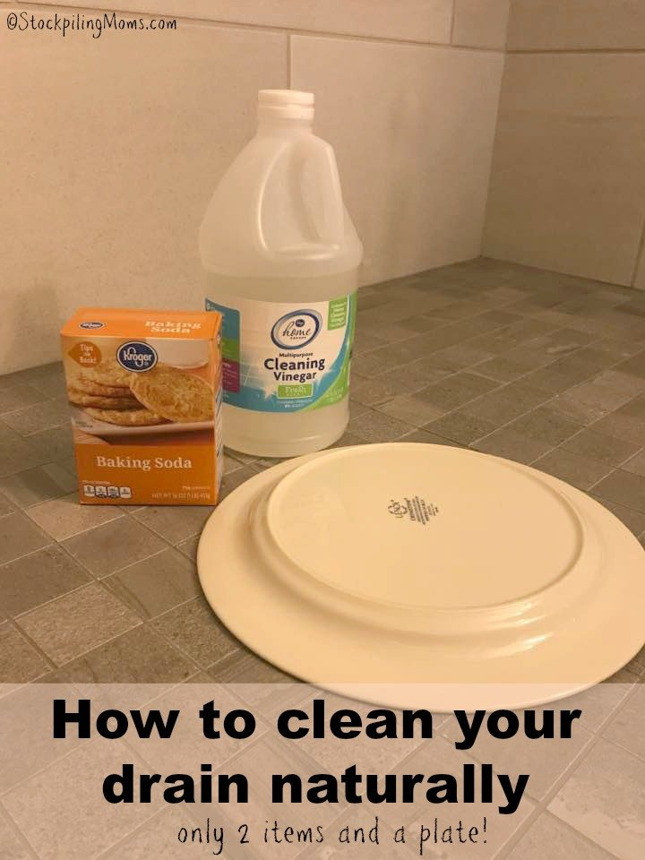 How To Clean Your Drain Naturally