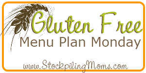 Gluten Free Monthly Menu Plan :: September 2012