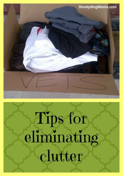 5 Tips for eliminating clutter