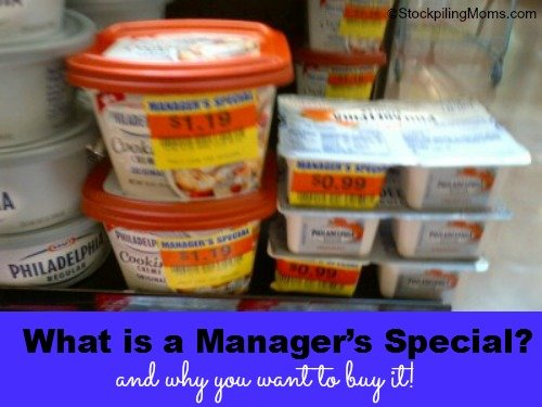 What is a manager's special