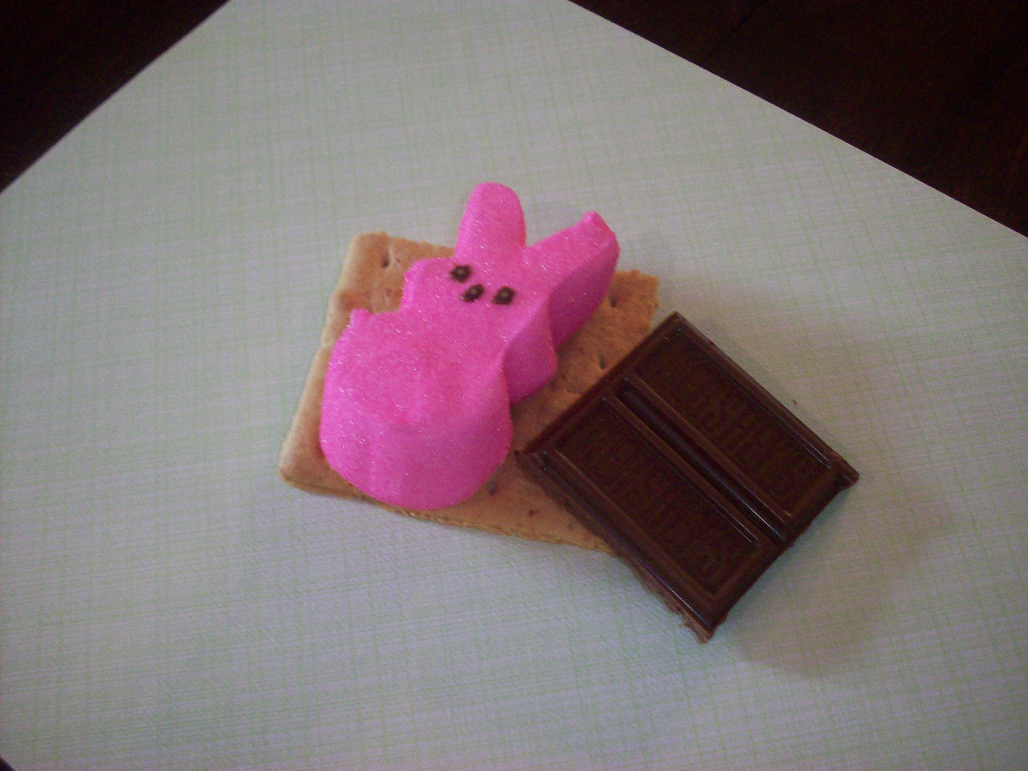 DIY Easter Peep S'more Kit is the perfect addition to any Easter basket or a fun way to share treats with a classroom or playgroup