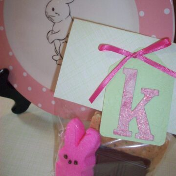 Easter Craft with Peeps