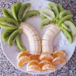 palm tree healthy snack