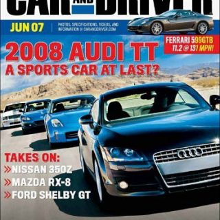 Car and Driver Magazine only $4.29 a year