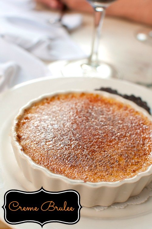 Creme Brulee is a naturally gluten free dessert that tastes delicious!