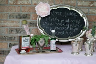 DIY KY Derby Party