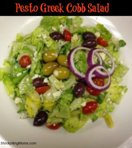 Pesto Greek Cobb Salad