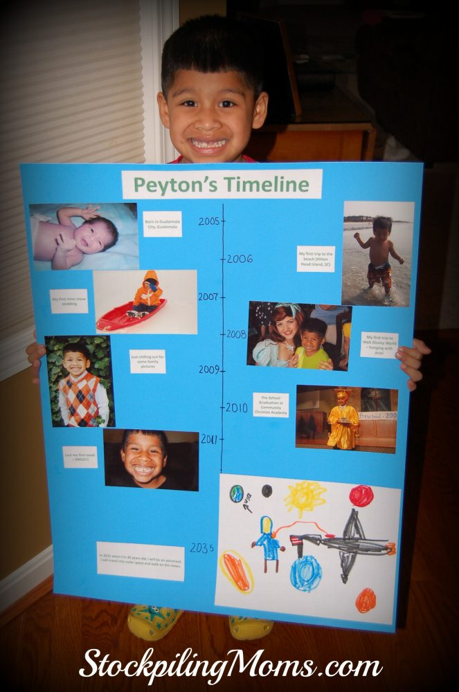 Timeline school project great homeschooler idea for Do my project