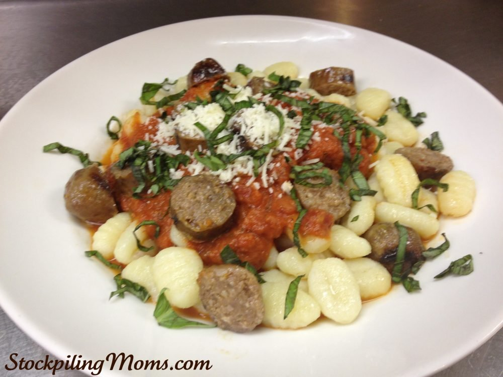 Sausage and Gnocchi