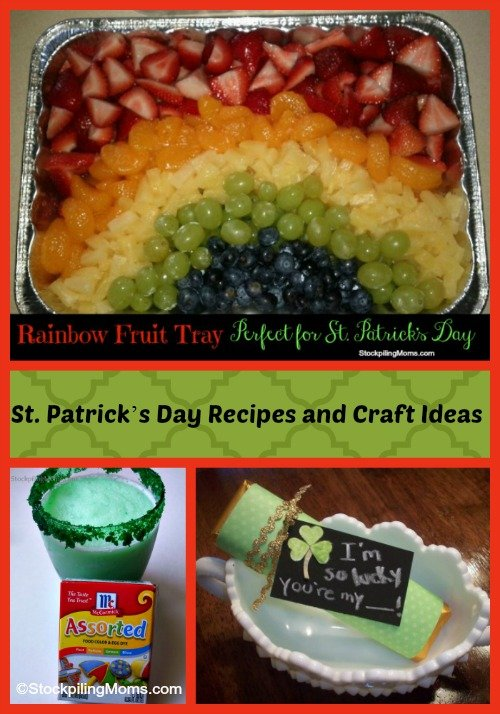 St. Patrick's Day Recipes and Craft Ideas