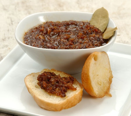 Homemade Bacon Jam is the perfect combination of sweet and savory. I love it on a warm biscuit.