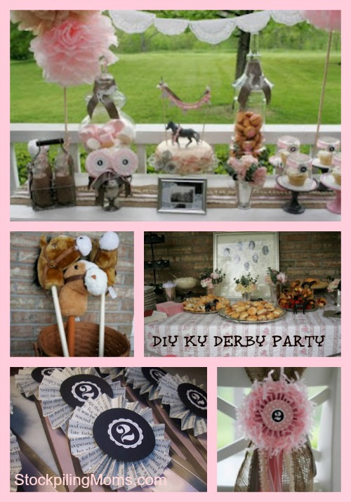 KY Derby Themed Birthday Party Idea