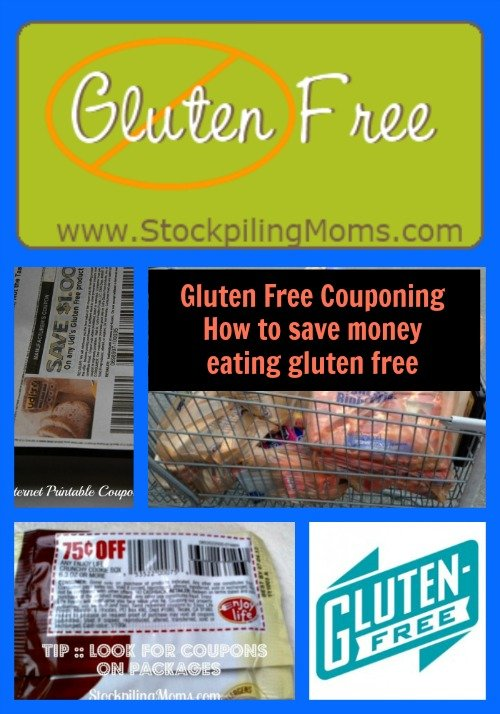 Gluten Free Couponing - How to save money eating gluten free