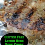 Gluten Free Lemon Herb Pork Chops