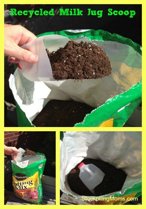 How To Make A Recycled Milk Jug Scoop