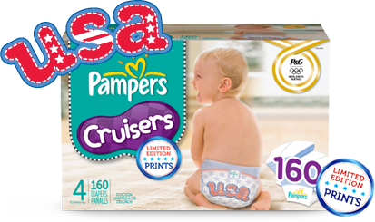 olympics pampers diapers