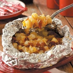 Grilled Potatoes - Foil Packet