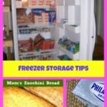 Freezer Storage Tips