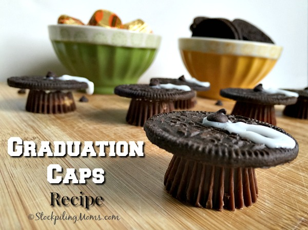 Graduation Caps Recipe would be perfect for any graduation celebration