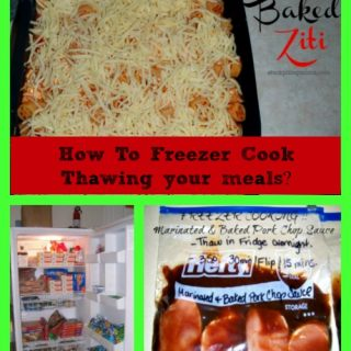 How To Freezer Cook Series – Thawing your meals?