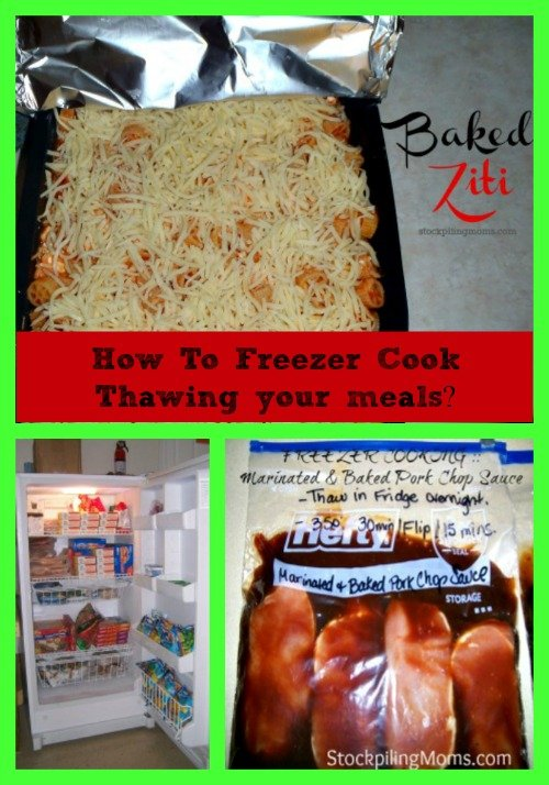 How To Freezer Cook Series Thawing your meals