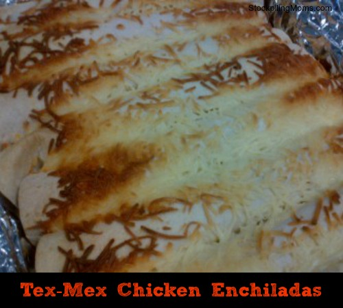 Tex-Mex Chicken Enchiladas final