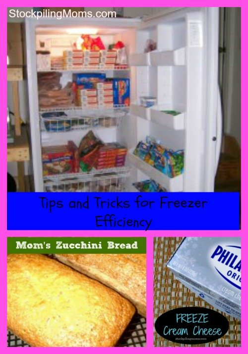 Tips and Tricks for Freezer Efficiency