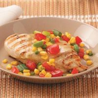 Chicken with Garden Salsa Recipe