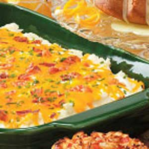 "Originally published as ""Everything"" Mashed Potato Casserole in Reminisce October/November 2007"