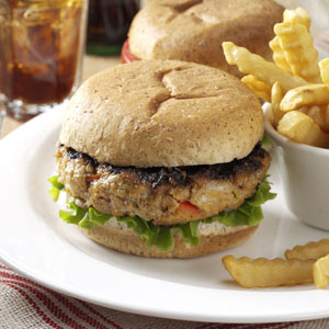 Originally published as Garden Turkey Burgers in Quick Cooking July/August 1999, p27