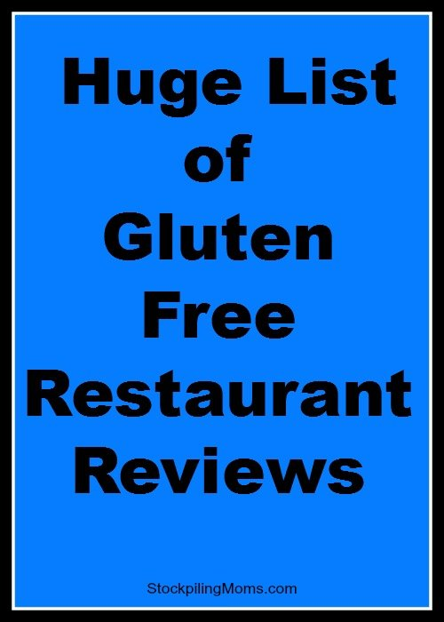 gluten free dining reviews