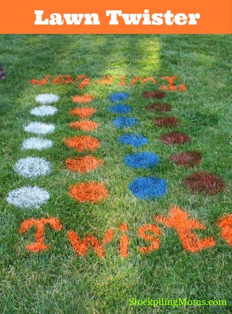 Pinterest Pin Of The Day Diy Lawn Twister