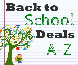 Back to School Deals 300x250