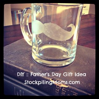 Inexpensive Craft for Father's Day